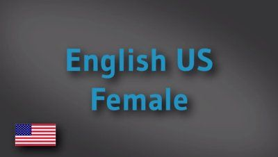 English US female voice-over demo reel