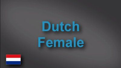 Dutch female voice-over demo