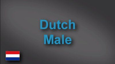 Dutch male voice-over demo