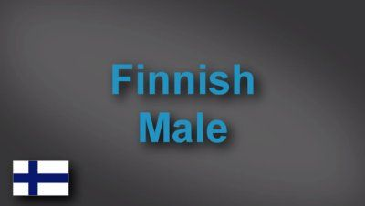 Finnish male voice-over demo