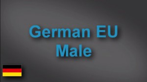 German male voice-over demo