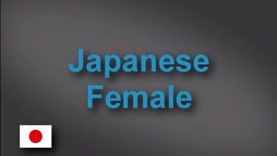 Japanese female voice-over demo
