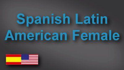 Latin American Spanish female voice-over demo