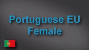 Native Portuguese female voice-over demo