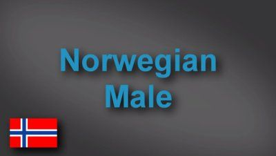 Norwegian male voice-over demo
