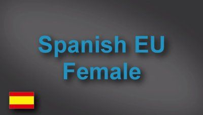 Spanish female voice-over demo