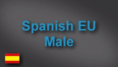 Spanish male voice-over demo