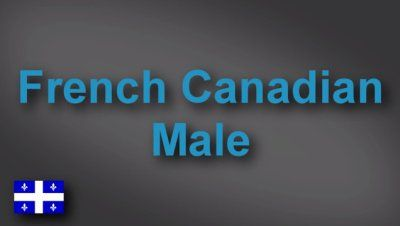 French Canadian male voice-over demo