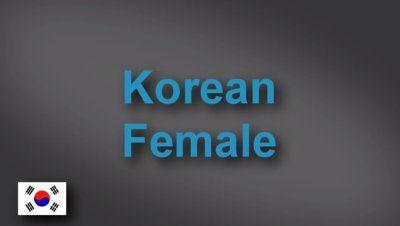 Korean female voice-over demo