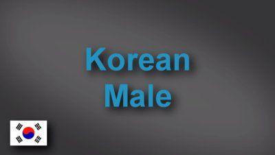 Korean male voice-over demo