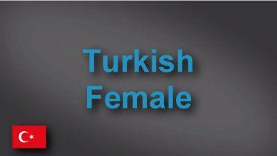 Turkish female voice-over demo