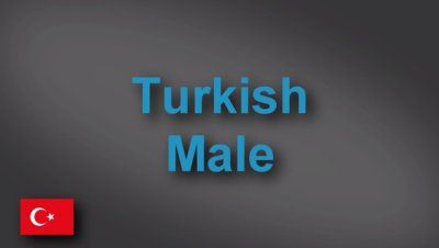 Turkish male voice-over demo