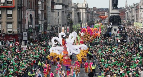 Image of St Patrick's Day parade