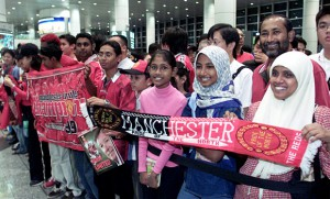 Manchester United Fans in Asia