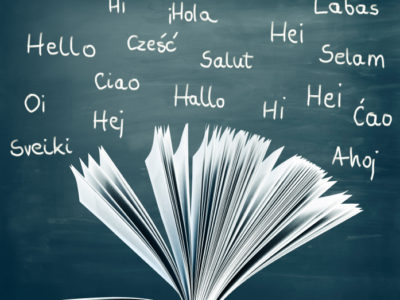 Learning languages on a blackboard