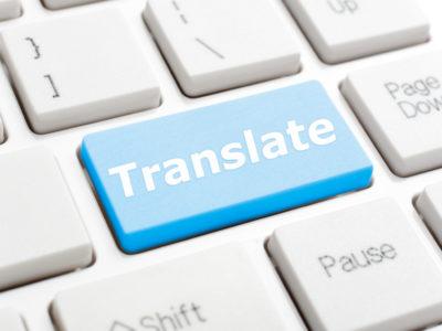 perfect translation - translate button on keyboard