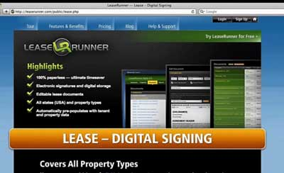 Lease Runner promo - US voice-over female
