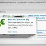French voice-over – Lexmark PartnerNet.