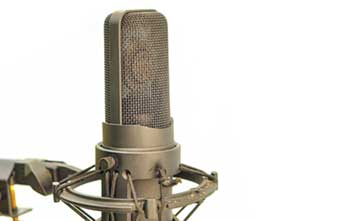 effective audio translation with voice over microphone
