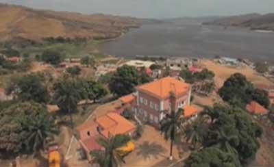 British talent recording in UN style for Angola promo video