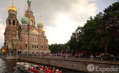 English voice-over in Russian accent - St. Petersburg Travel Guide