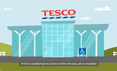 Slovenian subtitling and captions for Tesco
