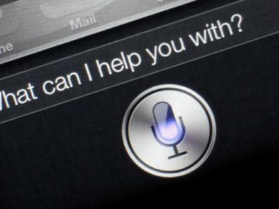 voice technology - siri
