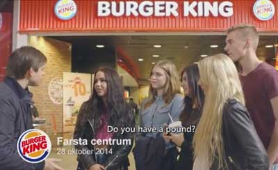 English & Swedish subtitles for Burger King case-study