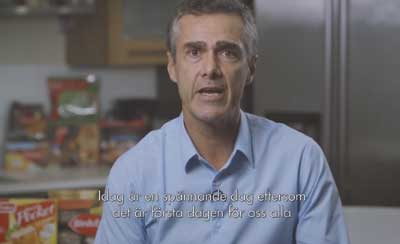 Swedish subtitles for Nomad Foods CEO message