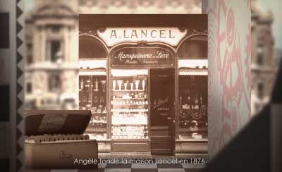 English read in a French Accent for Lancel