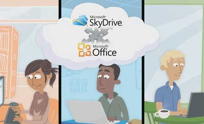 Microsoft Skydrive - video localization in Czech