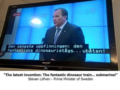 dinosaurs Swedish subtitles