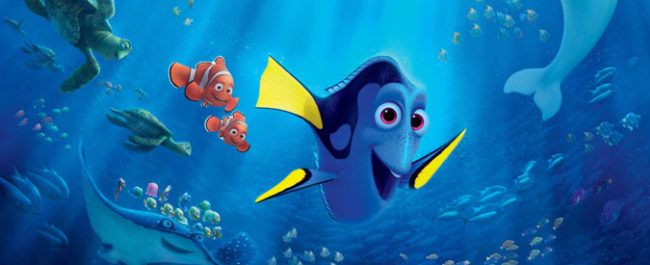 Finding Dory voiceover