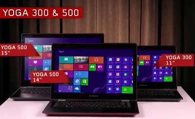 Brazilian Portuguese voice-over for Lenovo Yoga