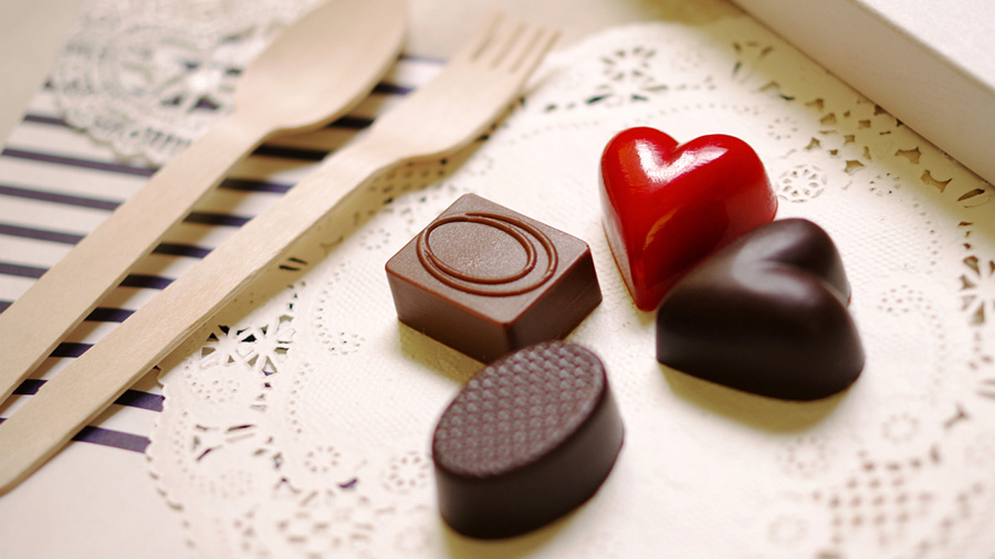 Valentine's Day Chocolates in Korea