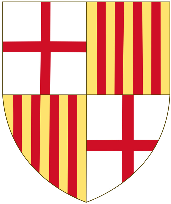 Catalan flag arms