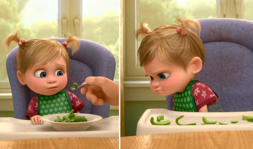 Disney Localisation of Inside out peppers and broccoli