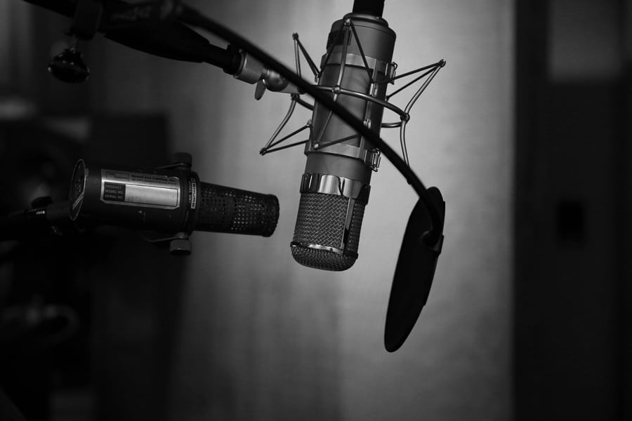 voice artists learn the shocking truths - microphone recording studio