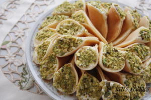 Dessert: Qatayef - Food eaten by voice actor during Ramadan