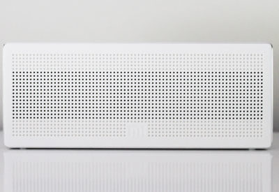 White speakers for Audio branding