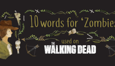 The Walking Dead ways to say zombie header image