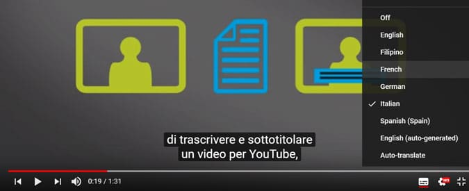How to add foreign language subtitles to youtube videos youtube foreign language subtitles ccuart Choice Image